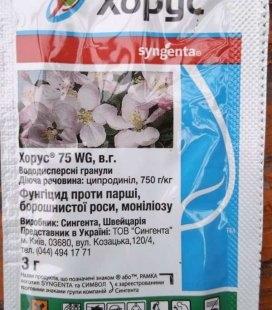 Фунгицид Хорус 75WG, 3г