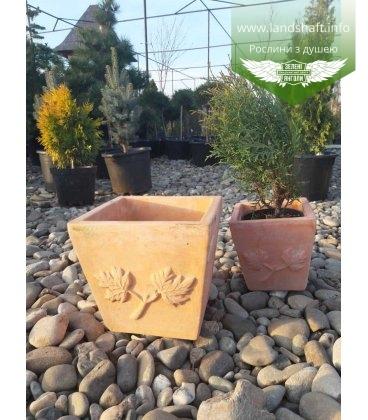 Горщик для рослин 'Terracota'. Куб. Об'єм 21,9