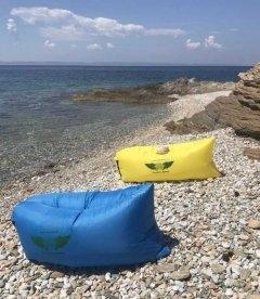 Диван-лодка, ламзак для отдыха