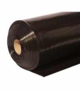 Пленка п/э строит., черная,1500 мм x 100 м/80 мкм