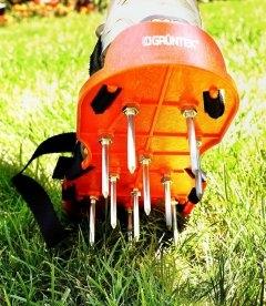 Аэраторы-сандали GRUNTEK газонные 300х135 мм