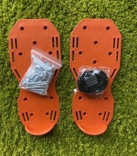 Аератор-сандалі GRUNTEK газонні 300х135 мм