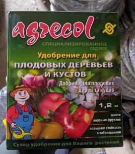 Добриво для плодових дерев Agrecol (Весна-Літо) 1,2 кг